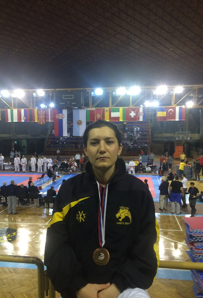 Alexandra Merisoiu World Karate Championship Serbia 2015 - Copy