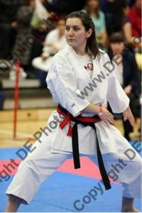 Alexandra Merisoiu Porthsmouth Karate Tournament November 2014