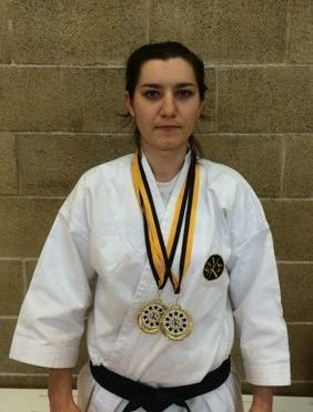 SKCE (Shotokan Karate Clubs England) 2nd National Championship - Alexandra Merisoiu