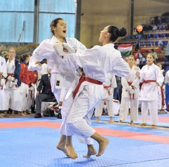 Alexandra Merisoiu World Karate Championship Serbia 2015
